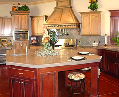 The nosing of the countertop is availablein a variety of profiles and ...